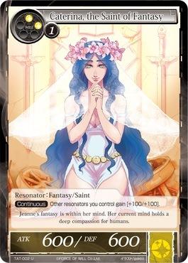 Caterina, the Saint of Fantasy - TAT-002 - U