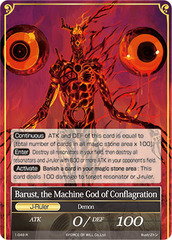 Barust, the Machine God of Conflagration - 1-049 - R
