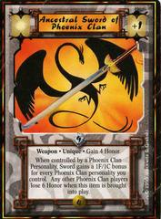 Ancestral Sword of Lion Clan