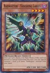 Raidraptor - Vanishing Lanius - SECE-EN011 - Common - Unlimited Edition