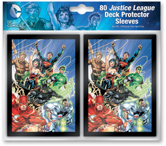 Justice League Card Sleeves 80 count