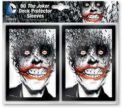 The Joker Card Sleeves 80 count