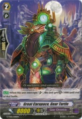 Great Carapace, Gear Turtle - G-TD01/008EN - TD on Channel Fireball