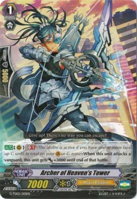 Archer of Heaven's Tower - G-TD02/010EN