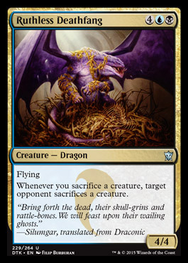 Ruthless Deathfang - Foil