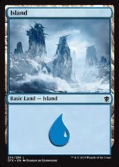 Island (254) - Foil
