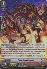 Lava Flow Dragon - PR/0170EN - PR Stamped