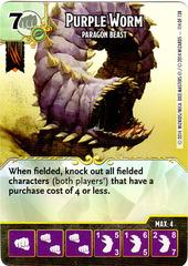 Purple Worm - Paragon Beast (Die & Card Combo)