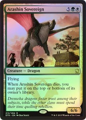 Arashin Sovereign - Foil - Prerelease Promo