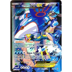 Team Aqua's Kyogre-EX - 6/34 - Holo Rare EX