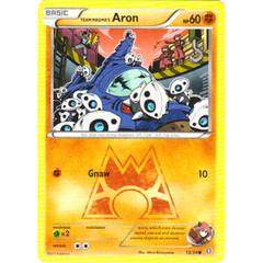 Team Magma's Aron - 12/34 - Common