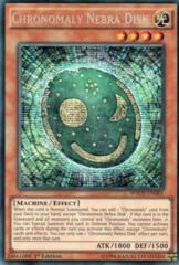 Chronomaly Nebra Disk - WSUP-EN001 - Prismatic Secret Rare - 1st Edition