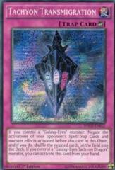 Tachyon Transmigration - WSUP-EN012 - Prismatic Secret Rare - 1st Edition on Channel Fireball