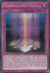 Marshalling Field - WSUP-EN025 - Prismatic Secret Rare - 1st Edition