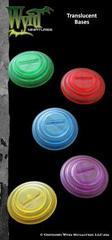 Purple Translucent Bases 30mm (10)