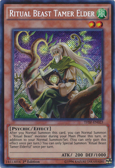 Ritual Beast Tamer Elder - THSF-EN023 - Secret Rare - Unlimited Edition