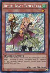 Ritual Beast Tamer Lara - THSF-EN022 - Secret Rare - Unlimited Edition