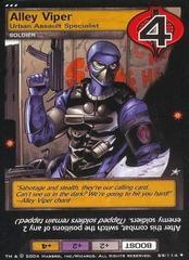 Alley Viper, Urban Assault Specialist