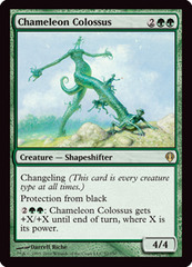 Chameleon Colossus on Channel Fireball