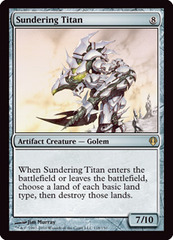Sundering Titan on Channel Fireball
