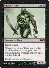 Grave Titan on Channel Fireball