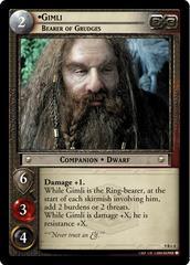 Gimli, Bearer of Grudges