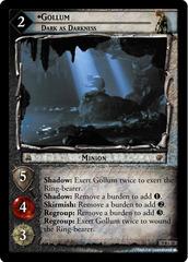 Gollum, Dark as Darkness