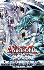 Saga of Blue-Eyes White Dragon Structure Deck: 1st Edition
