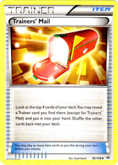 Trainers' Mail - 92/108 - Uncommon
