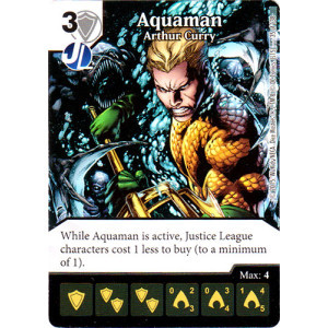 Aquaman - Arthur Curry (Die & Card Combo Combo)