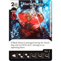 Black Manta - David (Die & Card Combo Combo)