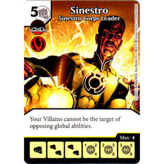Sinestro - Sinestro Corps Leader (Die & Card Combo Combo)