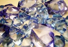 Gaming Crystals: Crystalline Counters (5/25) [Large/Small Blue]