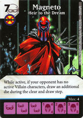 Magneto: Heir to the Dream - Marvel Dice Masters Promo