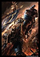 Fantasy Flight Games - Warhammer Art Sleeve: Space Marines