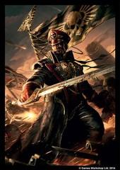 Fantasy Flight Games - Warhammer Art Sleeve: Astra Militarium