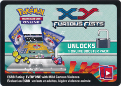 XY Furious Fists Code Card