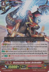 Destruction Tyrant, Archraider - G-FC01/033EN - RR on Channel Fireball
