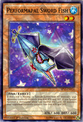 Performapal Sword Fish - SP15-EN014 - Shatterfoil - 1st Edition