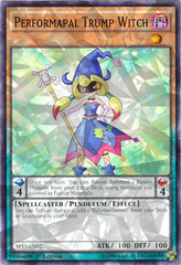 Performapal Trump Witch - SP15-EN027 - Shatterfoil - 1st Edition