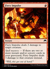 Fiery Impulse - Foil