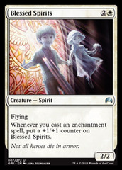 Blessed Spirits - Foil on Channel Fireball
