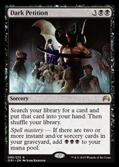 Dark Petition - Foil