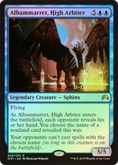 Alhammarret, High Arbiter (Magic Origins Prerelease Foil) on Channel Fireball
