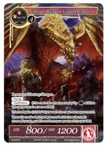 Gilles de Rais, the Golden Dragon - PR