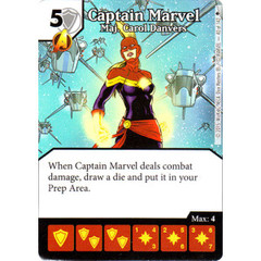 Captain Marvel - Maj. Carol Danvers (Die & Card Combo)