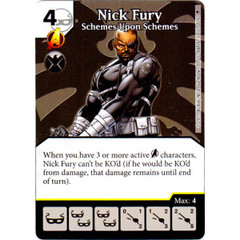 Nick Fury - Scheme Upon Schemes (Die & Card Combo)