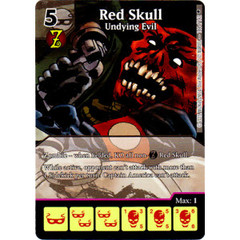 Red Skull - Undying Evil (Full Art) (Die & Card Combo)