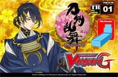 Cardfight Vanguard: Touken Ranbu - VGE-G-TB01 Booster Box