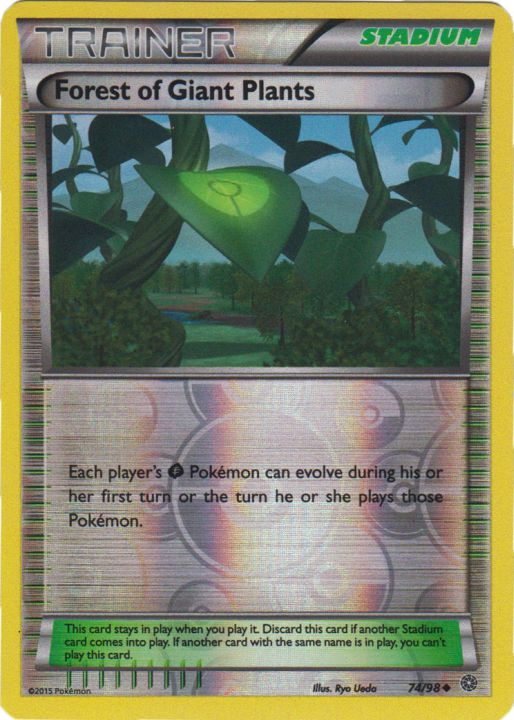 Forest of Giant Plants - 74/98 - Uncommon - Reverse Holo